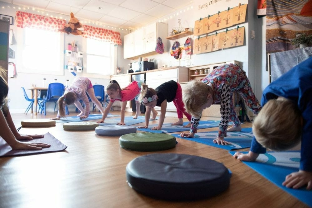 Dissecting a Kids Yoga Class